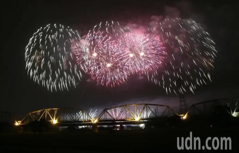 圖為去年在屏東河濱公園試放影像。圖/本報資料照片