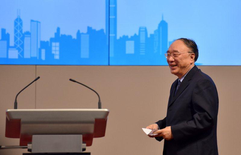 重慶市前市長、中國國際經濟交流中心副理事長黃奇帆。中新社