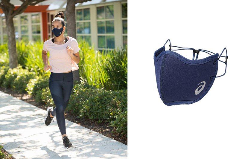 運動品牌ASICS考量到跑者需求,創造速乾材質口罩。圖/摘自instagram