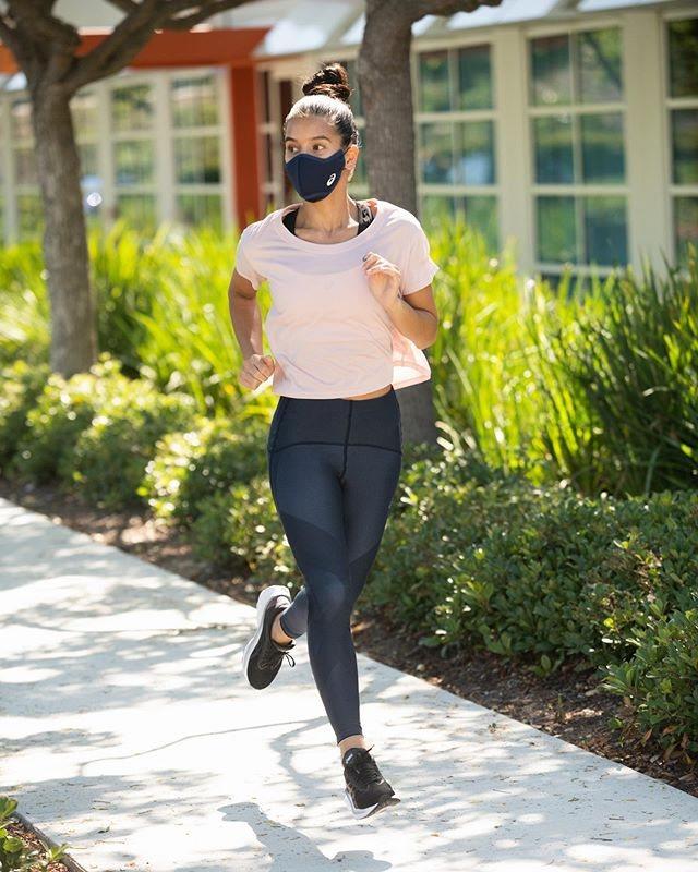 ASICS Runners口罩,預計在9月中旬正式於全球各個通路上市。圖/摘自i...