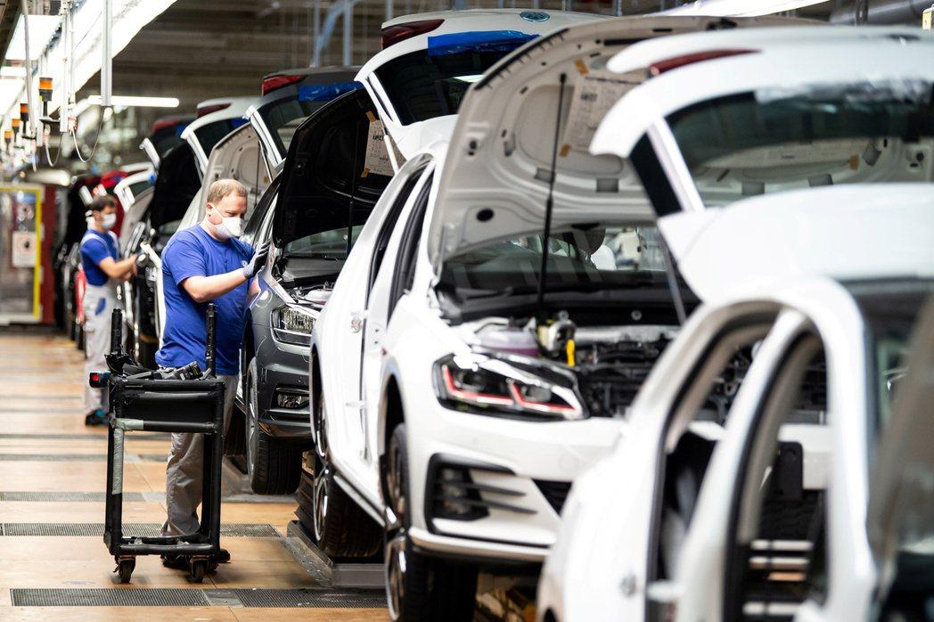 德國6月工業產出比上月增長8.9%。歐新社