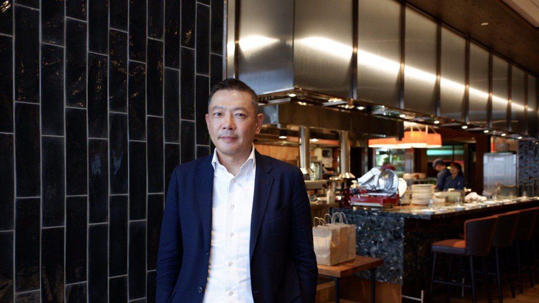 新光三越總經理吳昕陽。記者江佩君/攝影
