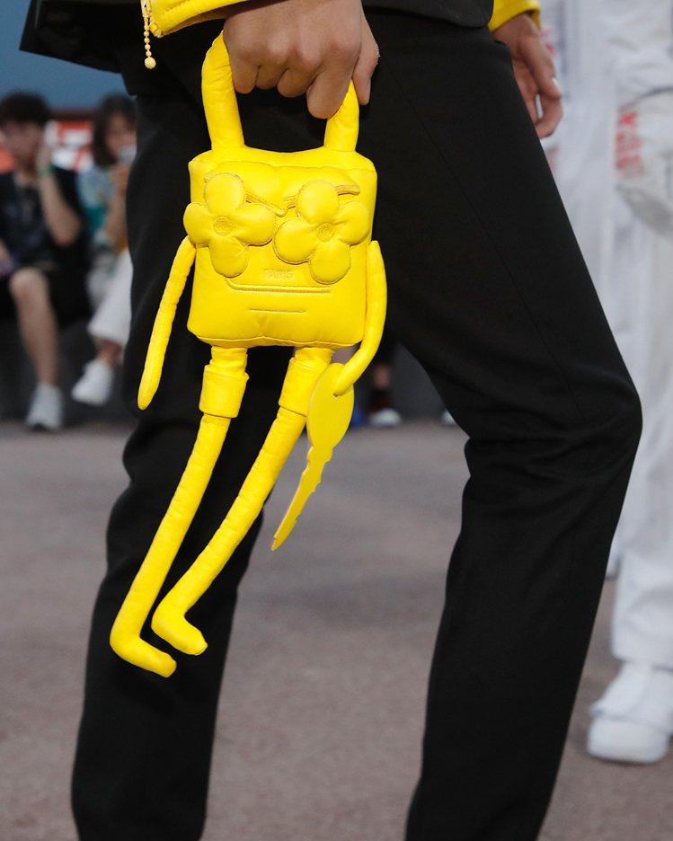 色彩鮮艷的卡通朋友結合monogram做為新款手袋設計。圖/LV提供