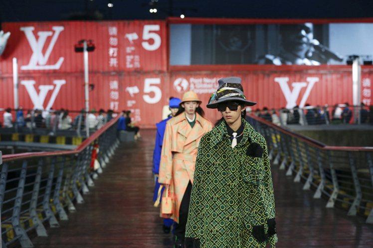 路易威登首度在上海發表春夏男裝大秀,9月2日將移師東京舉行。圖/LV提供