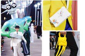 吳亦凡被LV卡通人物挾持 上海春夏男裝大秀「我怪誕我驕傲」