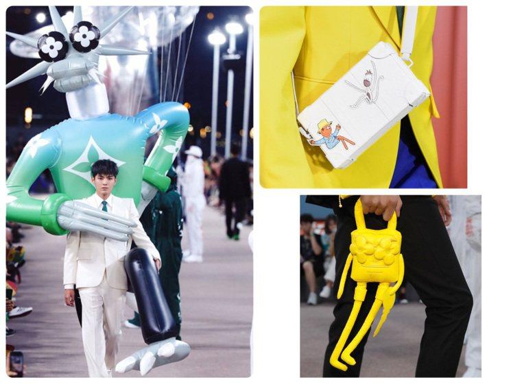路易威登在上海發表2021春夏男裝