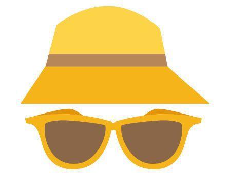 陰天也要戴太陽眼鏡 圖/123RF