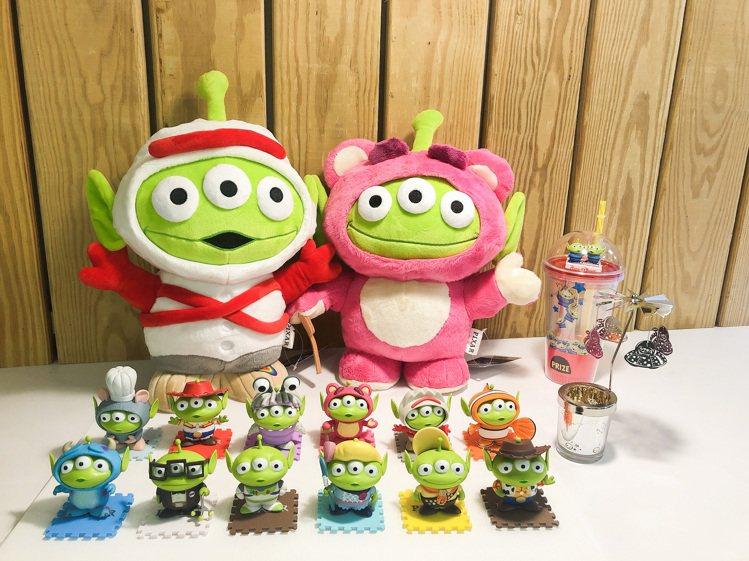 全家便利商店「玩具強檔趴」集點活動8月12日上午10點起開跑,主打三眼怪變裝派對...