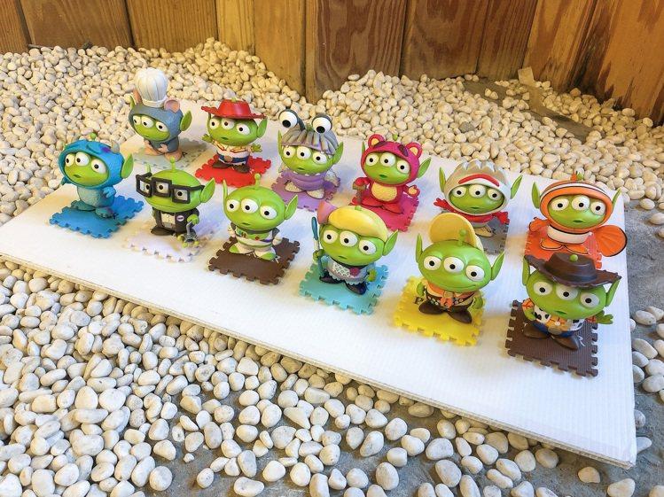 全家便利商店「玩具強檔趴」集點推出12款三眼怪變裝派對公仔,8月12日上午10點...