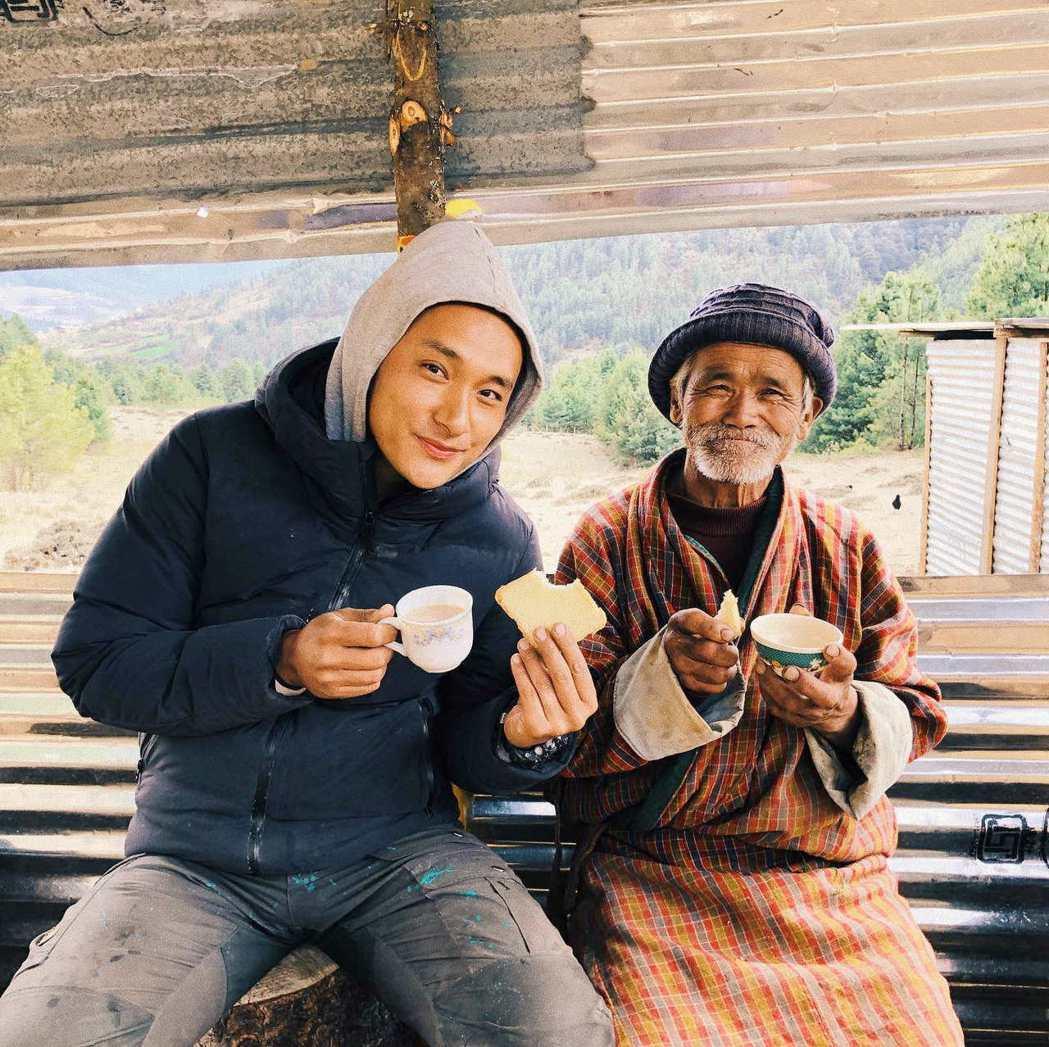 「不丹是教室」。圖/海鵬提供
