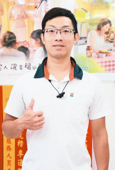 信義房屋新莊捷運店專案經理梁仁杰。記者潘俊宏/攝影