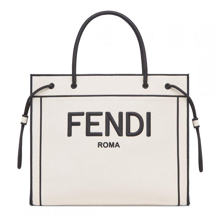 FENDI Roma Shopper大尺寸68,000元、中尺寸60,900元。...