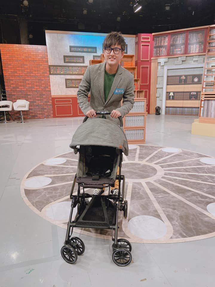 黃靖倫近期特別想要嬰兒車。圖/TVBS提供