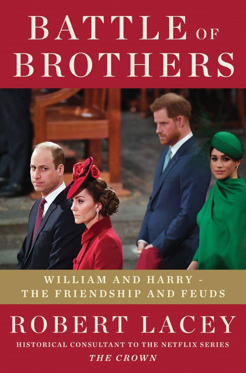 威廉和哈利兄弟倆的心結、衝突是這本新書的主題。圖/摘自amazon