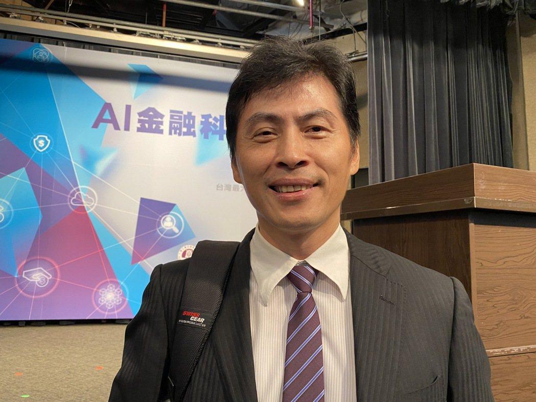 玉山金控新任科技長張智星 記者陳怡慈/攝影