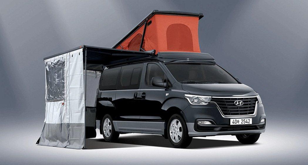 Hyundai Grand Starex Camper。 摘自Hyundai