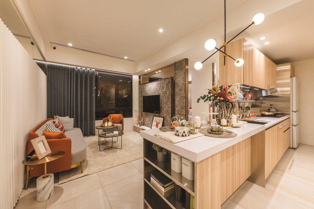 3房已全數全銷,圖為2房樣品屋照片。業者/提供