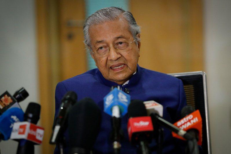 95歲的馬來西亞前總理馬哈迪(Mahathir Mohamad)今天宣布成立一個屬於馬來人和土著的新政黨。 路透