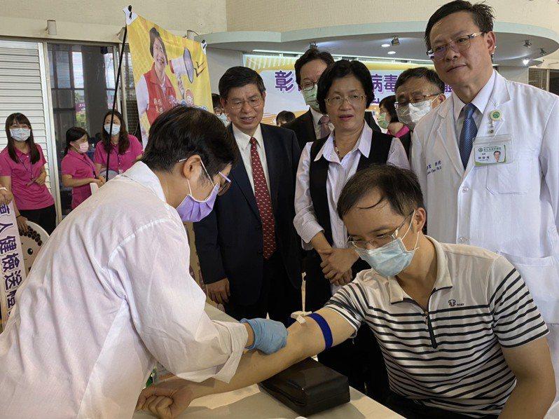 彰化縣衛生局與台大公衛學院合作啟動萬人新冠肺炎血清抗體調查。聯合報系資料照