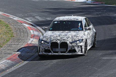 新世代BMW M3進入最後賽道測試階段!間諜照再更新