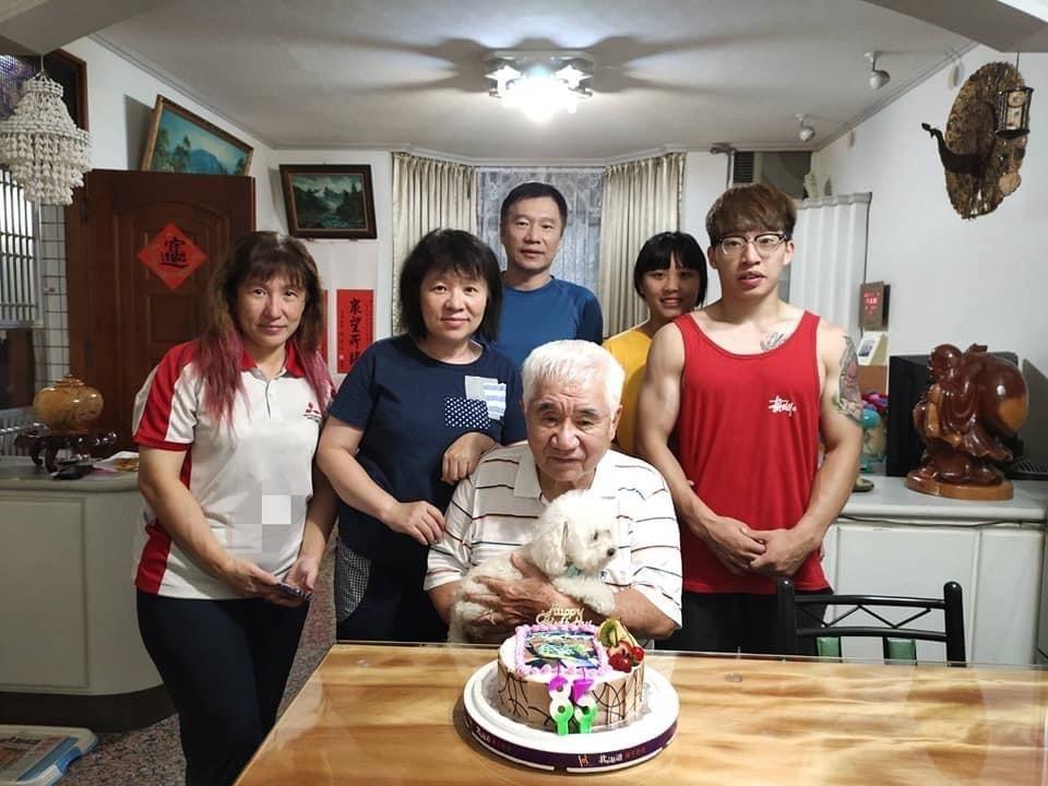家人的支持與貼心,林川說:「真的是滿足又幸福!」圖/林明志提供