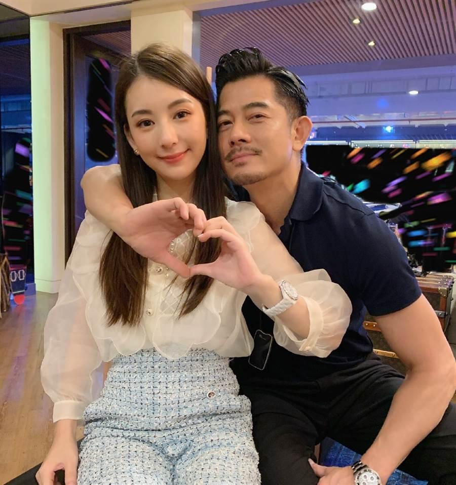 郭富城、方媛放閃力抗婚變流言。圖/摘自微博