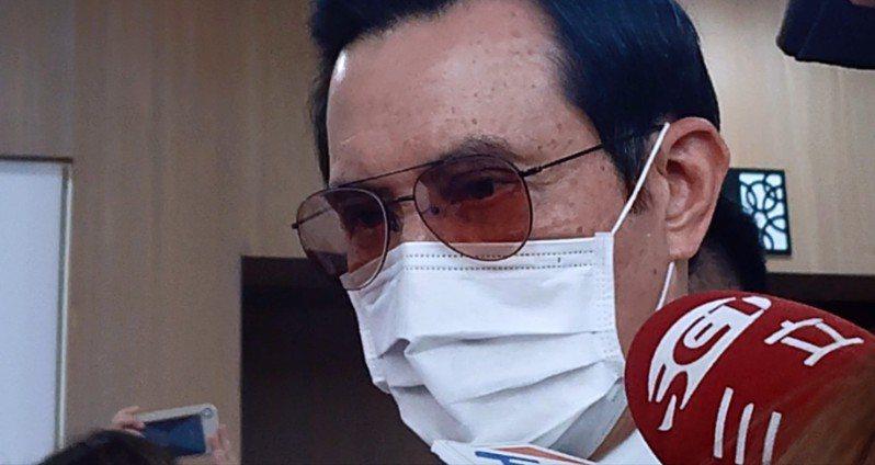 前總統馬英九今出席肝基會26周年活動,被問及對於唯獨不開發陸生一事,他怒斥,「太不像話了。」記者陳婕翎/攝影