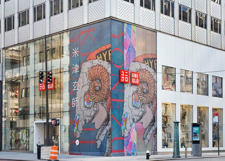 人氣歌手米津玄師與UNIQLO合作推出聯名UT系列,搶先於北美地區實體店鋪,及境...