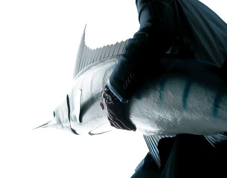 平扁的劍狀突出「吻部」,是劍魚的生物特徵。圖 / Graham提供。