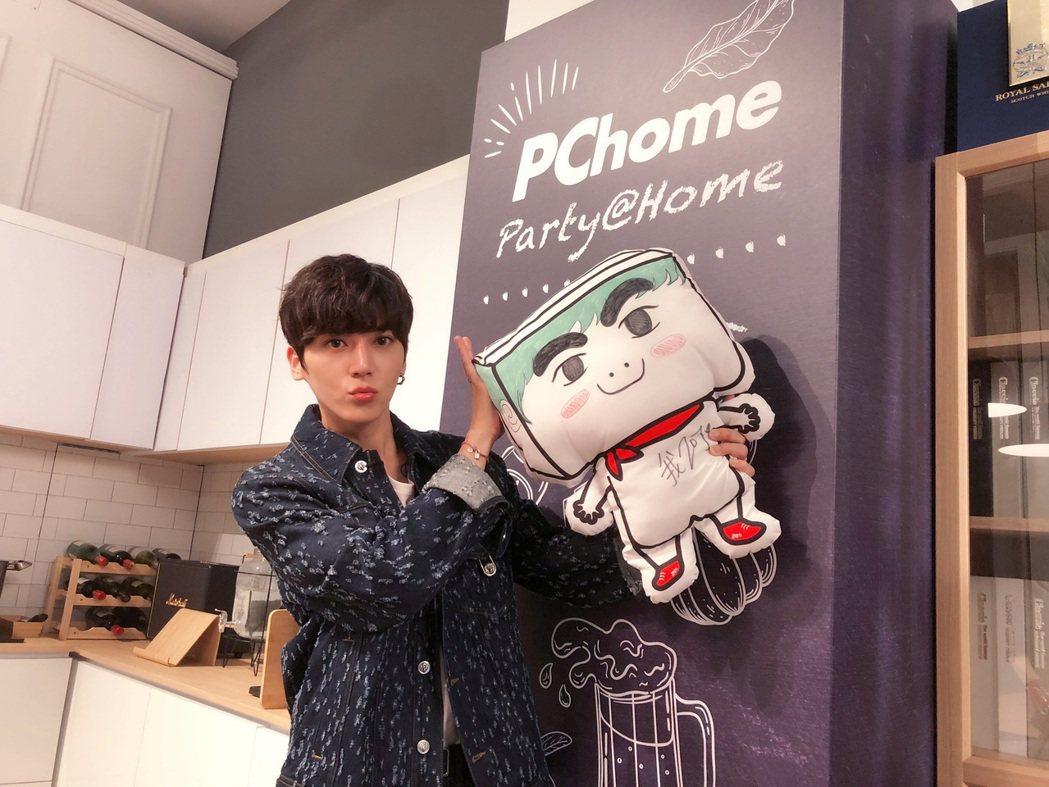 畢書盡二度受邀於「PChome 狂禮88小巨蛋演唱會」演出。圖/PChome提供