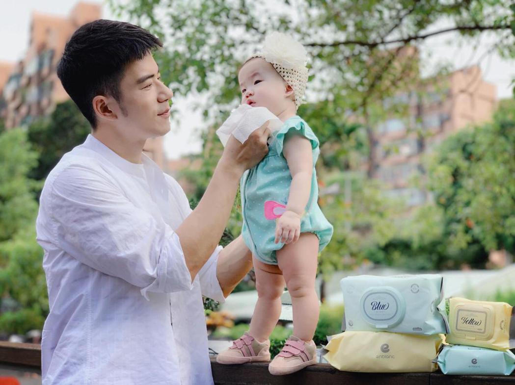 JR紀言愷當爸後過第2個父親節,笑稱有如「付清節」。圖/天晴娛樂提供