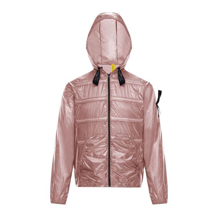 淺粉色透明感外套,29,100元。圖/MONCLER提供