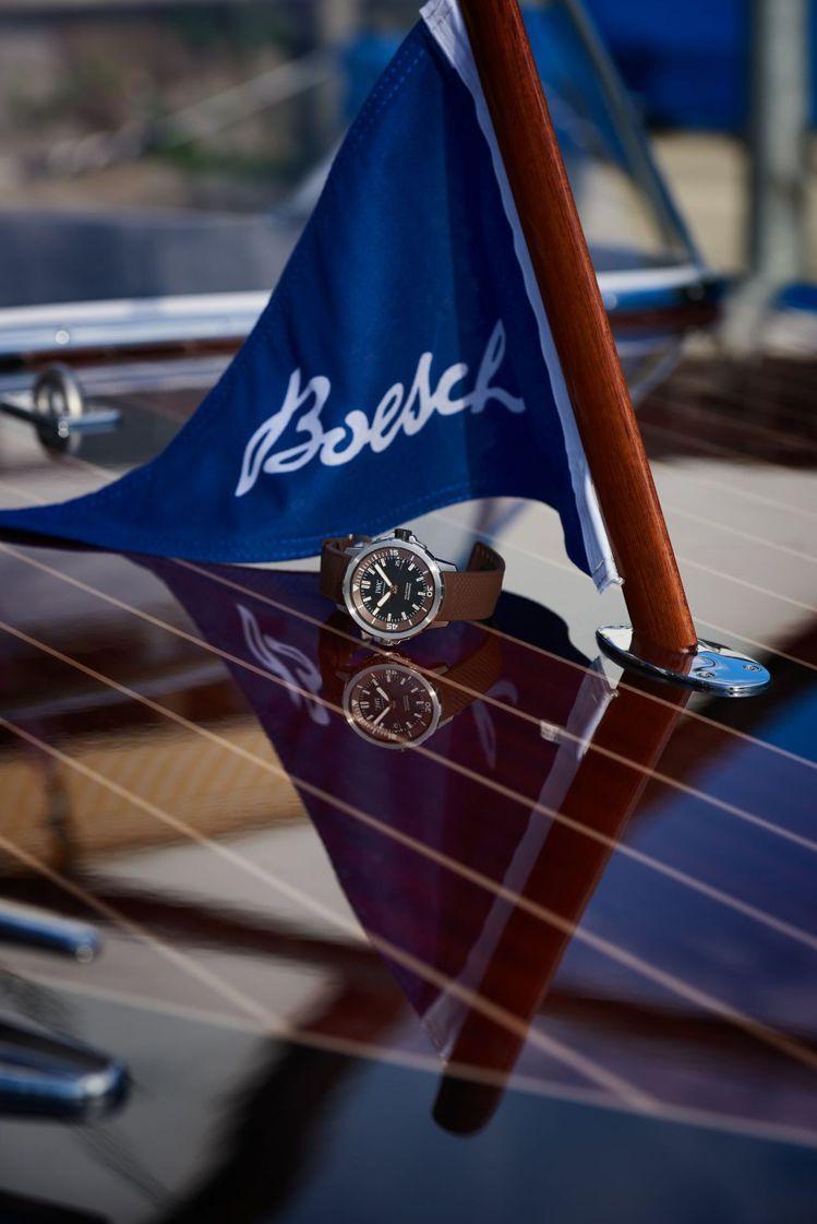 Boesch Motorboat自1920年創廠,並在早前已與IWC有合作關係、...