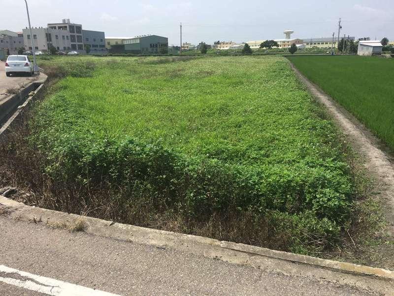 台中市政府總列管農地面積約89.3公頃,目前已改善88.8公頃污染農地並解除列管,改善率達99%,圖為改善前狀況。 圖/台中市環保局提供