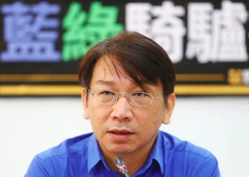 時代力量前黨主席徐永明捲入立委收賄風暴。 圖/聯合報系資料照片