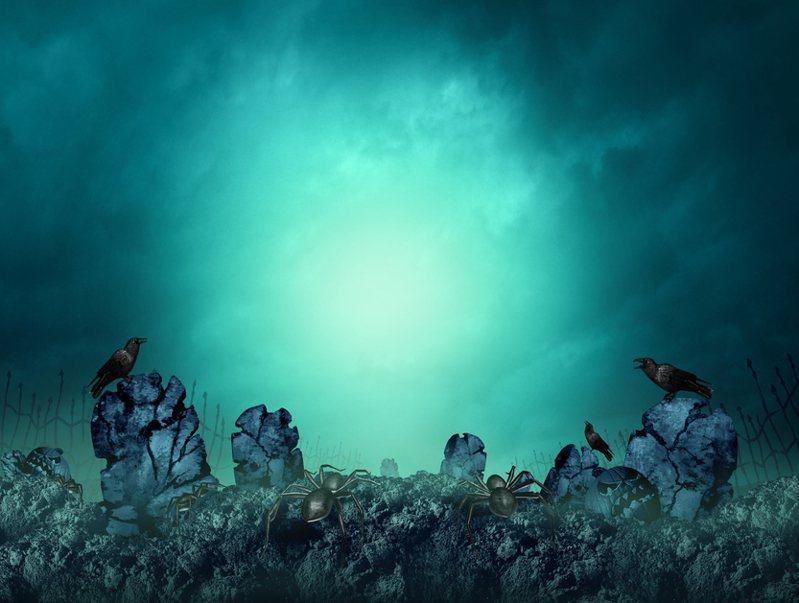 靈骨塔宛如一個異世界,高人在此設下結界。示意圖/ingimage