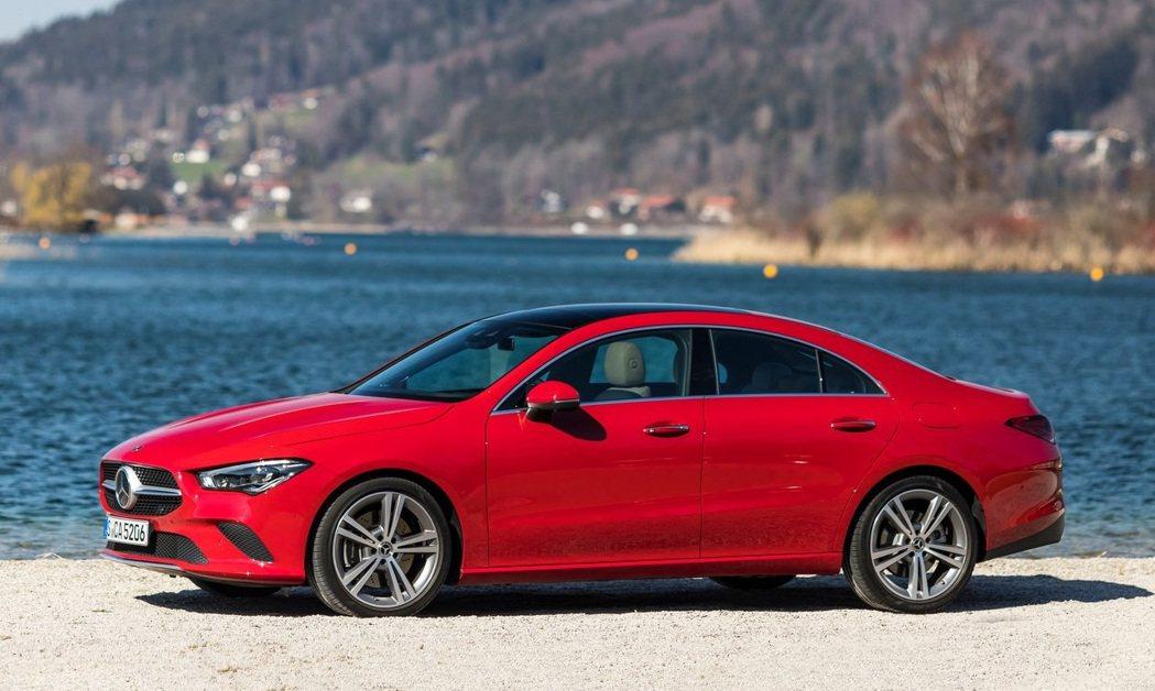 Mercedes-Benz CLA 200。 摘自Mercedes