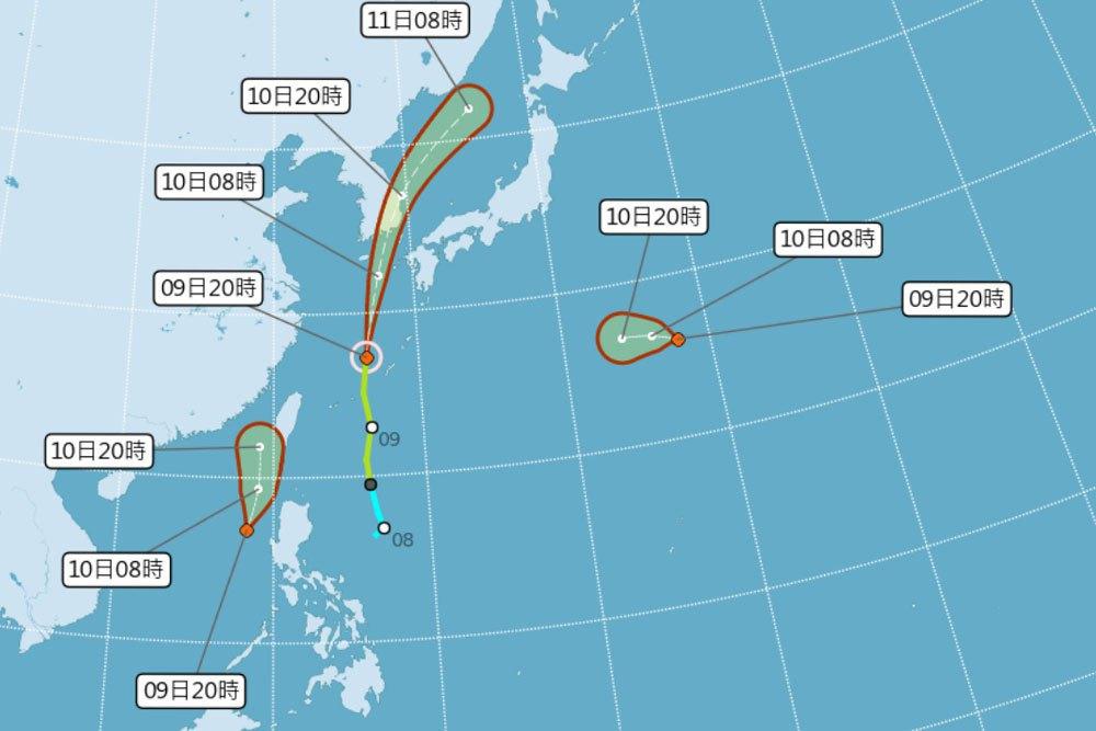 今晚連生成2熱帶低壓明恐成颱風 氣象局:離台灣很近