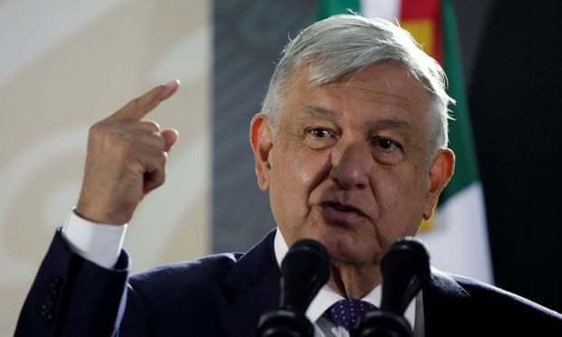 墨西哥總統羅培茲歐布拉多。路透