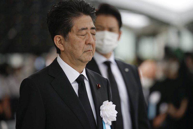 廣島原爆75周年,日本首相安倍晉三出席和平紀念儀式。 路透