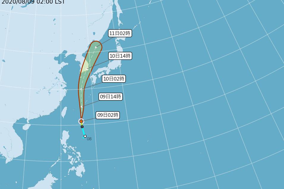 薔蜜颱風生成!吳德榮:8月至今已3颱 現在是爆發期