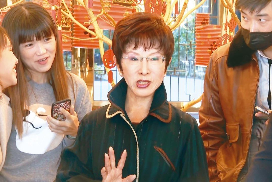 阿查爾訪台不需隔離14天 洪秀柱:他來台灣能做什麼?