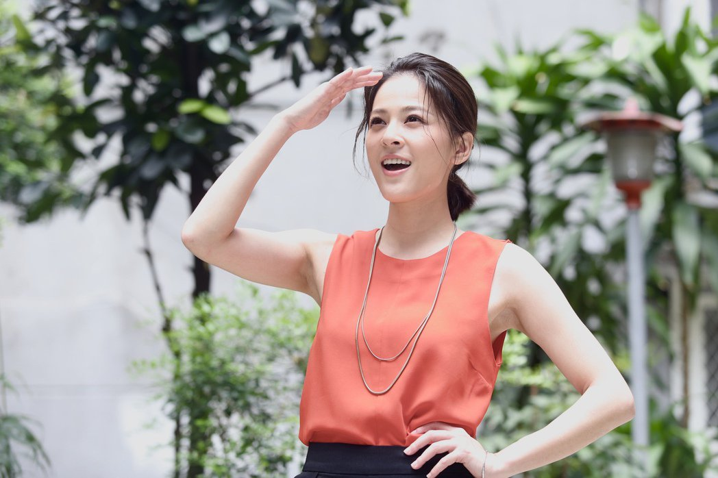 蘇晏霈演出「我的婆婆怎麼那麼可愛」突破過往在8點檔中的形象。記者林俊良/攝影