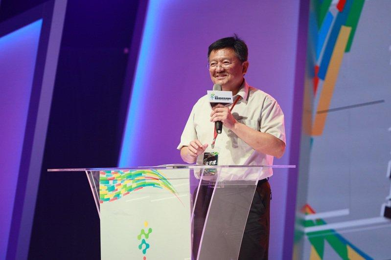 台灣運動產業博覽會閉幕典禮由體育署副署長林哲宏主持。圖/體育署提供