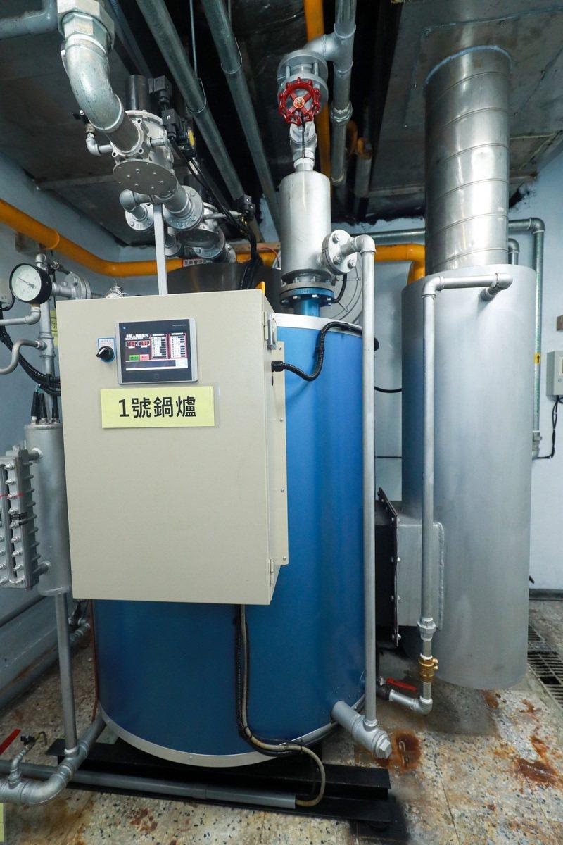 台中推動7大廠17座燃煤鍋爐改燃氣或再生物質,力拚燃煤鍋爐111年全面退場。圖/中市經發局提供