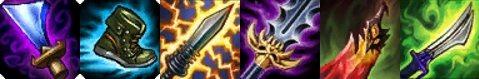 大吸魔劍護盾與血手、幻影之舞衝突,故選擇彈簧刀