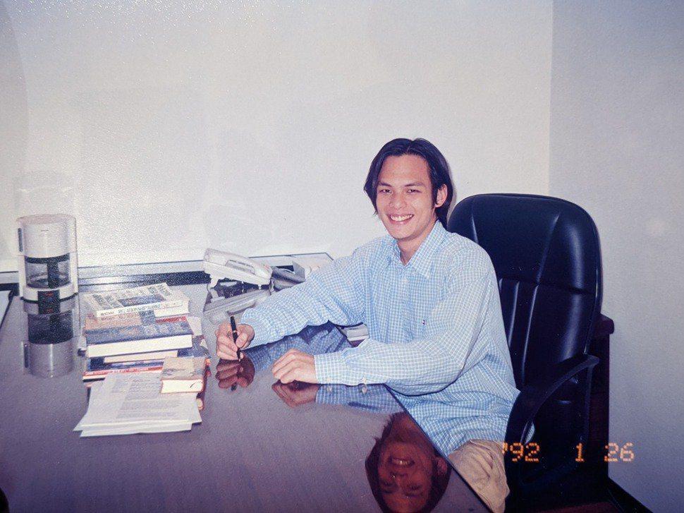 現任台灣大哥大總經理的林之晨大學畢業前就和同學投入創業。 圖/林之晨提供
