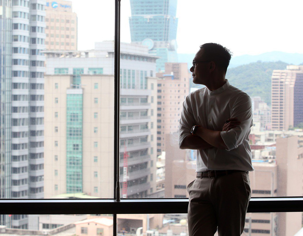 林之晨期待能為台灣創造更多機會,也為下一代做好準備。 圖/林澔一拍攝