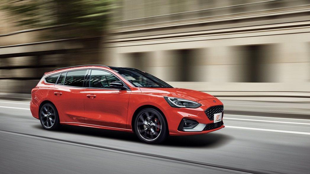 德製高性能旅行車New Ford Focus ST Wagon為Ford Per...