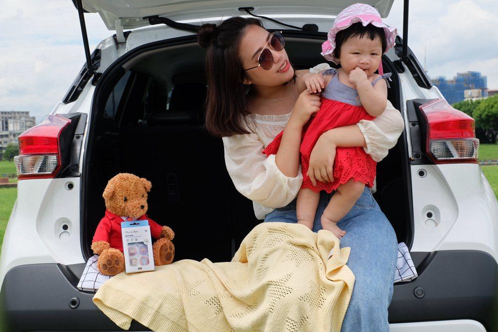 家有0-4歲寶貝並於租車時加租嬰幼兒汽車安全座椅滿2天(含以上),即可免費獲得奇...